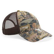 Oilfield Camo Mesh-Back Cap