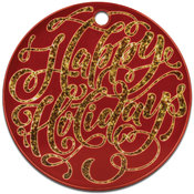 Acrylic Ornament - Round
