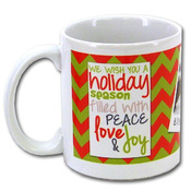 11 oz Ceramic Mug, UV Protected, FDA Compliant, Microwave and Dishwasher Safe